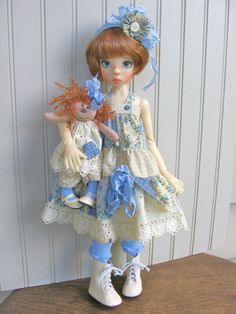 MY Dolly AND ME Paper Pattern FOR Kaye Wiggs MSD Dolls Bydch | eBay
