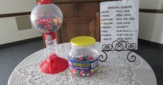I've been using this bubble gum machine for the last 5 years now as a review of the song we learned for the month. I actually use it about ...