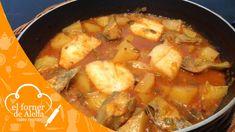 Bacalao con Patatas y Alcachofas
