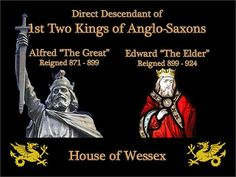 Direct Link to 1st Two Kings of Anglo-Saxons