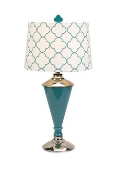 Essentials Glass Table Lamp - Blue by Furnish With Color: Accents & Decor on @HauteLook