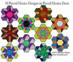 Pieced Hexies von Mickey Depre