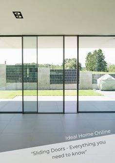 IQ Glass featured in #IdealHome discussing 'everything you need to know' about sliding glass door. The article goes into depth about why to choose sliding doors, configurations, colours and much more. #slimslidingdoors #slidingdoorinspo #glazinginspo #luxuryhomes #homedesign #interiordesign #homedesign #homedesignideas #homedecor #homedesigntips