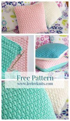 Free Pillow Cover Crochet Pattern | ☂ᙓᖇᗴᔕᗩ ᖇᙓᔕ☂ᙓᘐᘎᓮ http://www.pinterest.com/teretegui
