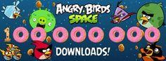 Angry Birds Space alcanza los 100 Millones de Descargas