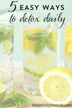 Want to detox without extremes? These 5 easy steps will support your body's natural detoxification processes. (And they're easy enough to do daily!)