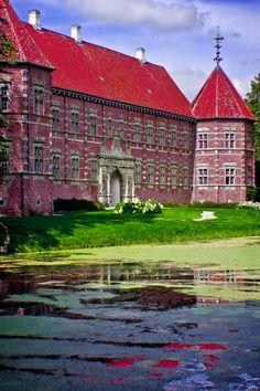 Voergaard Castle, Denmark Denmark Europe, Denmark Travel, Copenhagen Denmark, Helsingor, Denmark Castles, Oh The Places You'll Go, Places To Visit, Kingdom Of Denmark, Scandinavian Countries