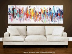 """Art Painting Abstract Painting Acrylic painting 72"""" Abstract Painting Wall Decor Home Decor jolina anthony Gift Ideas Decorative Arts"""