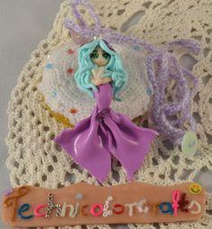 Pastel Mermaid Necklace