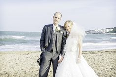 Seaside wedding photographs at Durlston Castle wedding venue in Swanage by one thousand words documentary wedding photography Seaside Wedding, Documentary Wedding Photography, Beach Photography, Documentaries, Photographers, Wedding Venues, Groom, Castle, Events