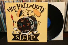 "The Fall Outs ""Sleep"" LP 1994 Super Electro Sound Recordings (Mudhoney-related Garage Punk Vinyl Record)"