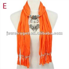 Aliexpress.com : Buy butterfly pendant necklace scarves with beads tassel jewelry, NL 1789 from Reliable polyester scarf suppliers on Well Done Fashion Jewelry Co.,Ltd. $9.49