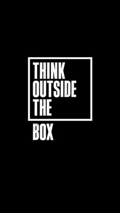 #Think outside the #box #Thinkdifferent #iPhonewallpaper http://iphone6retinawallpaper.com/gallery.php?cat=quotes