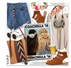 """Pack for Coachella!"" by paculi ❤ liked on Polyvore featuring Sans Souci, Lucky Brand, Forever 21, Sagaform, zaful and packforcoachella"
