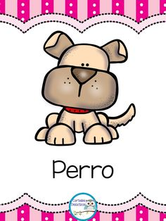 300 Tarjetas para trabajar el vocabulario – Imagenes Educativas Dog Quilts, Kids Cuts, Colouring Pics, Classroom Rules, School Notes, Cartoon Pics, School Colors, Teaching Tools, Diy For Kids