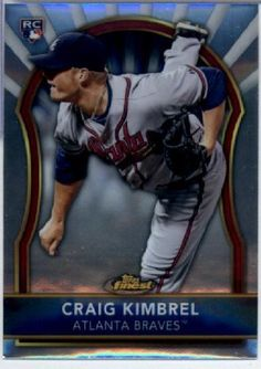 2011 Topps Finest #85 Craig Kimbrel RC - Atlanta Braves (RC - Rookie Card) (Baseball Cards) by Topps Finest. $2.97. 2011 Topps Finest #85 Craig Kimbrel RC - Atlanta Braves (RC - Rookie Card) (Baseball Cards)