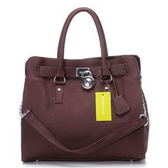 Michael Kors Hamilton Large Coffee Totes  $62.77