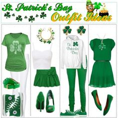 Here is St Pattys Day Outfit Pictures for you. St Pattys Day Outfit pin janet leah on st patricks day st patrick saints. St Pattys Day Outfit, St Patrick's Day Outfit, Outfit Of The Day, Polyvore Outfits, St Patrick's Day Costumes, Irish Costumes, St Patricks Day Clothing, St. Patricks Day, Saint Patricks