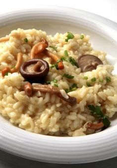 Cómo hacer risotto de setas #recetas #verduras #hortalizas