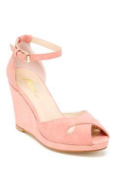 Petal Pink Wedges