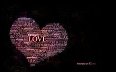 Download hd wallpapers of 40345-love, Hearts, Typography, Word Clouds. Free download High Quality and Widescreen Resolutions Desktop Background Images.