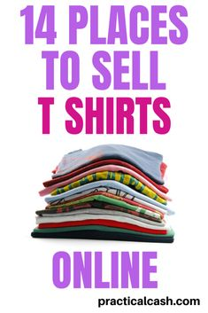 Make money and sell t shirts online – the perfect passive income side hustle - Earn Money at home