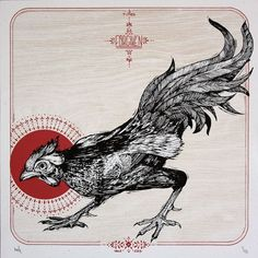 fighting rooster tattoo - Google Search