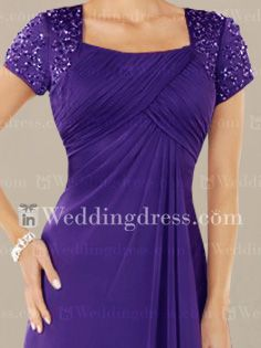 beach mother of the bride dresses_Eggplant