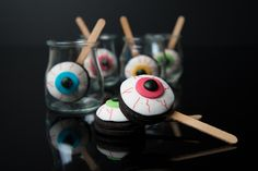 Decorated #Oreos - the perfect #halloween #cute #treat #pumpkins #mummies #monsters and much more from #oushe #gourmet #bakeshop #dubai #uae www.oushe.com 043850011