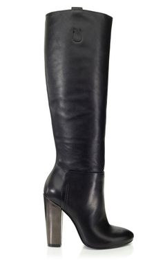 Alia Boots Michael Kors classic black boot