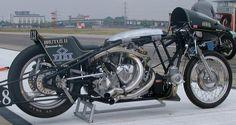 """""""Brutus II' Vincent Drag Bike"""