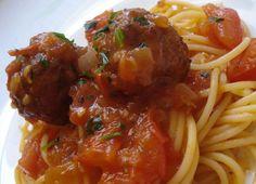 Spaguetti com Almôndegas (vegan)
