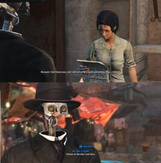 Should games be innovative or stay the same? Fallout 4 Funny, Fallout Art, Fallout New Vegas, Fallout Props, Video Game Logic, Video Games Funny, Funny Games, Gamer Humor, Gaming Memes