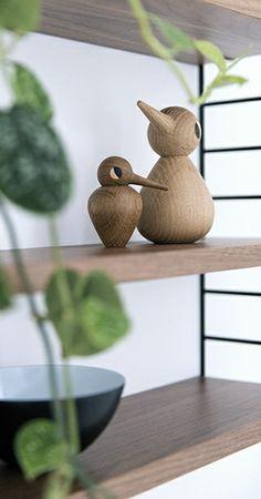 Via Woonblog | String Pocket | Architectmade Vedel Bird