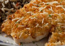Red Lobster - Parmesan Crusted Tilapia!