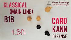 Caro-Kann Main Line in depth ⎸Chess Openings Chess, Line, Theory, Writing, Gingham, Fishing Line, Being A Writer