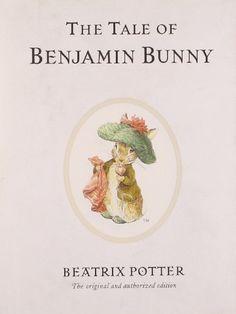 The Tale of Benjamin Bunny (Peter Rabbit) by Beatrix Potter,http://www.amazon.com/dp/0723247730/ref=cm_sw_r_pi_dp_KEFctb0S5SVT21XC