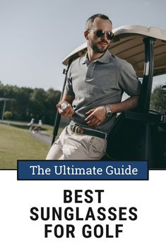 Golf Fashion Are you looking for the Best Sunglasses for Golf? Check out our in depth buyers guide to find the best pair of sunglasses for you. Golf Sunglasses, Golf Instruction, Golf Putting, Golf Exercises, Perfect Golf, Golf Training, Golf Lessons, Golf Accessories, Golf Fashion