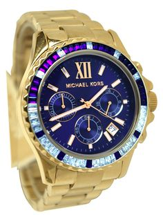 Michael Kors Everest Chronograph Glitz Watch from Picsity.com