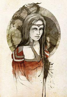 art, creative, design, drawing, Illustration, Inspiration,  Rhaenys Targaryen
