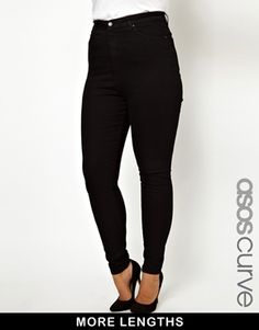 ASOS CURVE Skinny Jean With Ultra High Waist