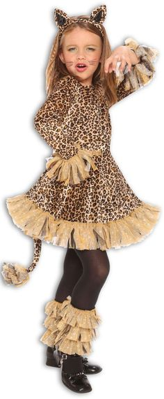 Leopard Girls Costume from Buycostumes.com