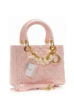 Pink Dior bag