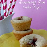 Raspberry Jam Filled Cookie Cups - Farmer's Wife Rambles