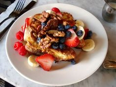 French toast from Supper in the East Village