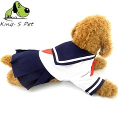 Summer Pet Clothes Dog T-Shirt Pet Cat Clothing School Uniforms For Dog Costumes Puppy Cotton Vest Spring T-Shirts Size S M L XL