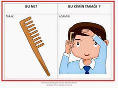 ODYOLOG, KONUŞMA ve SES BOZUKLUKLARI UZMANI PELİN KİŞİOĞLU KALAN: BU NE? ---BU KİMİN? ÇALIŞMA SAYFALARI Learn Turkish, Turkish Language, Olay, Speech Therapy, Projects To Try, Family Guy, Clip Art, Comics, Learning
