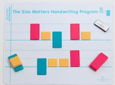 The Size Matters Handwriting Program Intake is an easy yet ...