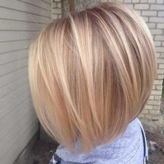 29 Excellent Hairstyles for Fine Hair Secrets of Stylish Women Hairstyles mediumfinehairstyles Stacked Bob Hairstyles, Bob Hairstyles For Fine Hair, Haircuts For Long Hair, Short Hairstyles For Women, Hairstyles Haircuts, Short Hair Cuts, Pretty Hairstyles, Stylish Hairstyles, Hairstyles Videos