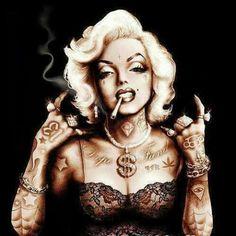 Marilyn Monroe will always be a badass.